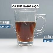 Màu nước nâu cánh gián, nâu trong trẻo như hổ phách, tuyệt đẹp báo giá cà phê hạt nguyên chất giá rẻ chất lượng tại tphcm - ca phe rang moc 2 180x180 - Báo giá cà phê hạt nguyên chất giá rẻ chất lượng tại TPHCM