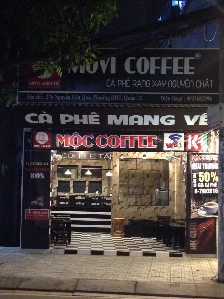 Kinh doanh cafe rang xay